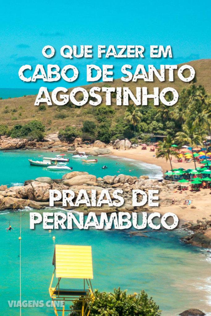 O que fazer em Cabo de Santo Agostinho: praias de Recife - Pernambuco - Praia das Calhetas