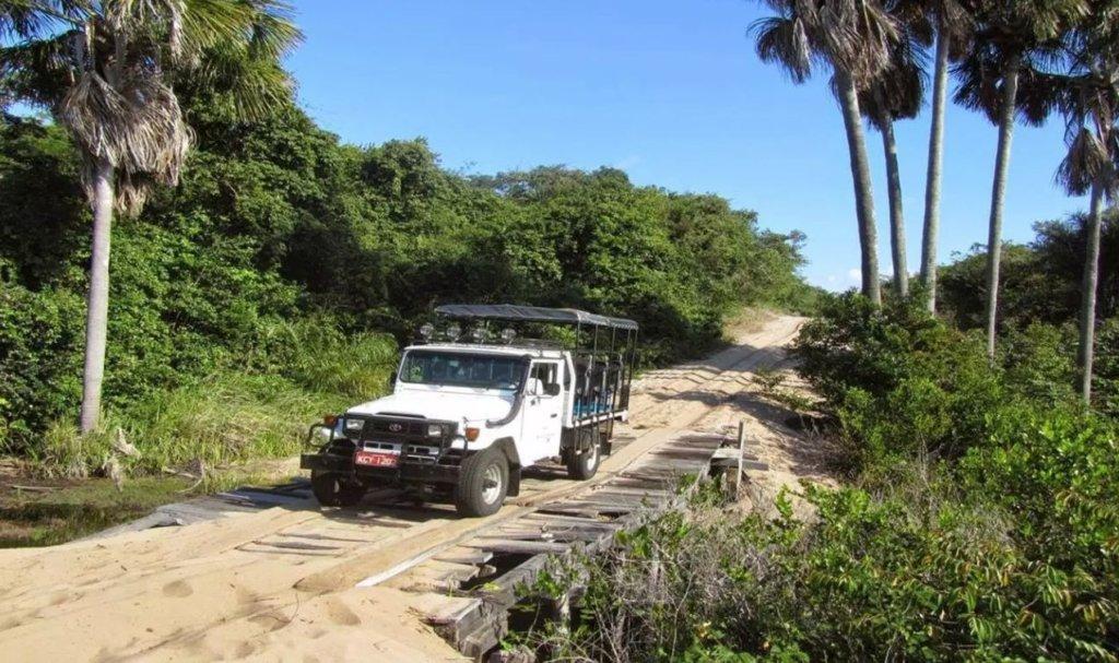 O que fazer em Barreirinhas - Lençóis Maranhenses: Lagoa Azul e Rio Preguiças. Foto: G.I.Conect