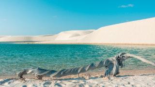 O que fazer em Barreirinhas - Lençóis Maranhenses: Lagoa Azul e Rio Preguiças