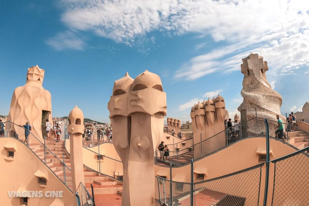 A Barcelona de Gaudí: Principais Obras - La Pedrera
