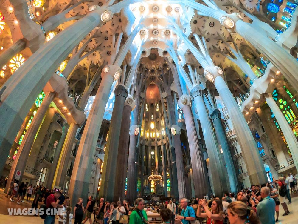 A Barcelona de Gaudí: Principais Obras - Sagrada Família