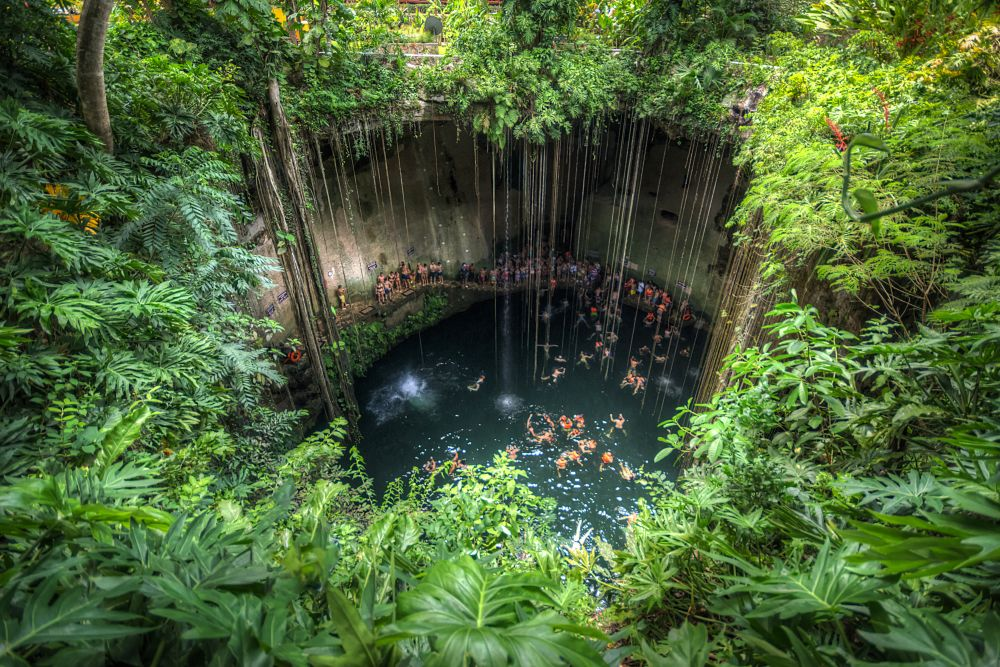 Top 7 Melhores Cenotes de Cancun, Riviera Maya, Tulum, Cobá e Yucatán com preços: Gran Cenote, Cenote Azul, Ik Kil - Foto: Foto: Vicente Villamón, CC 2.0