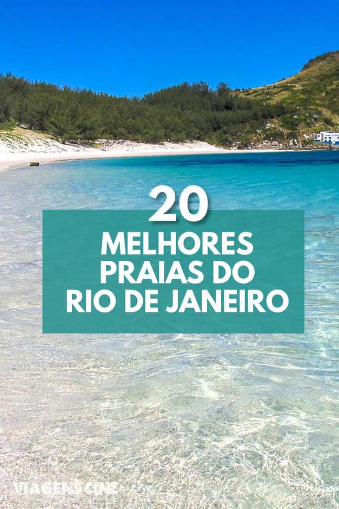 20 Melhores Praias do Rio de Janeiro - Região dos Lagos até Costa Verde