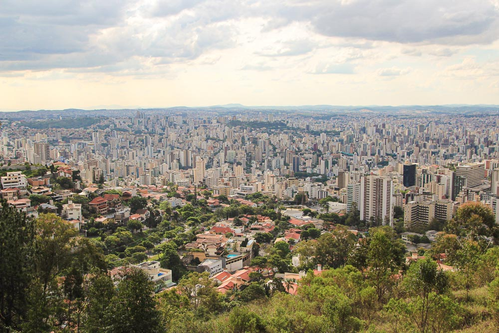 O que fazer em Belo Horizonte - 12 Pontos Turísticos para Visitar: Vista do Mirante do Mangabeiras