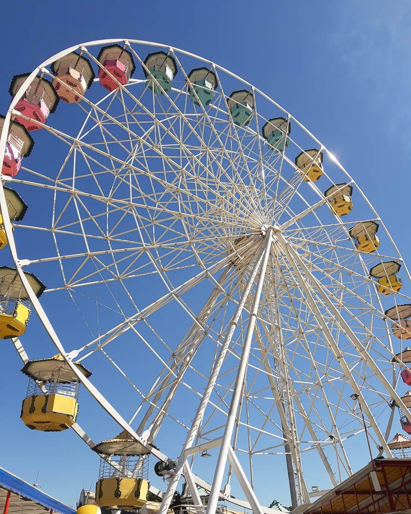 Roda gigante do Parque Guanabara