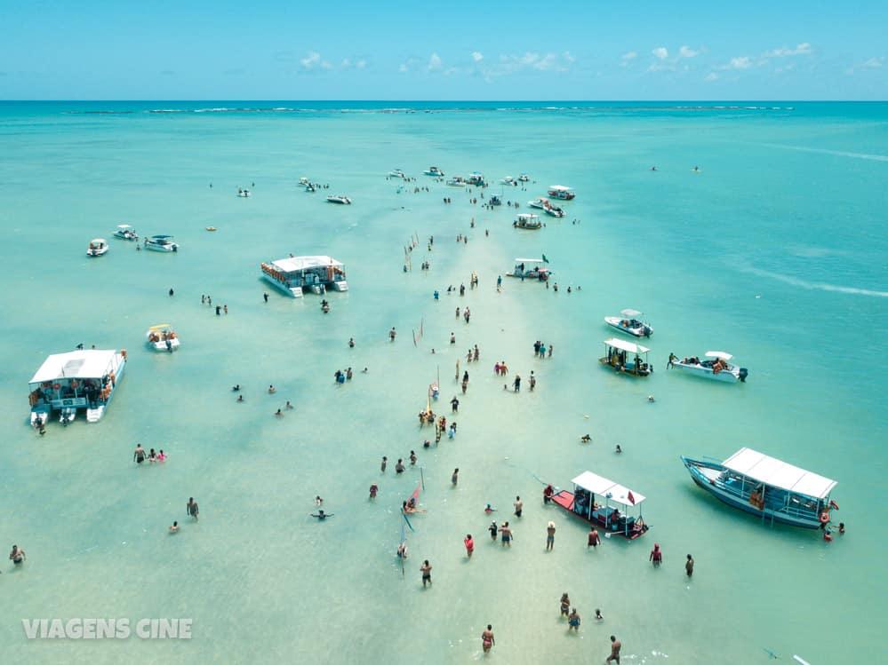 O que fazer em Maragogi Alagoas: Melhores Praias - Caminho de Moisés