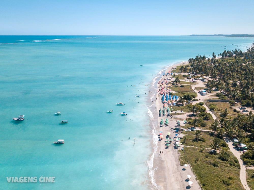 O que fazer em Maragogi Alagoas: Melhores Praias - Praia de Antunes