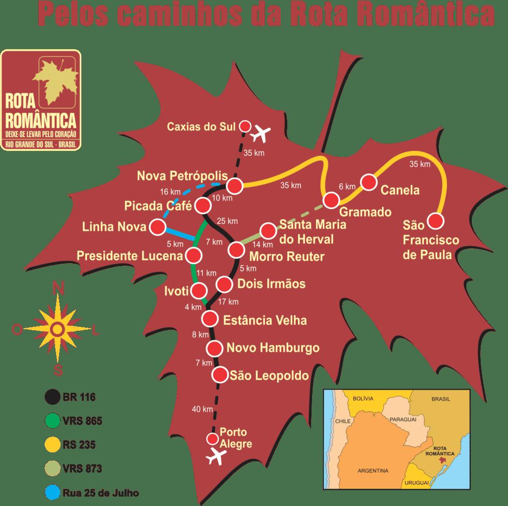 Rio Grande do Sul - Muito Além de Gramado: Top 3 Roteiros de Carro a partir de Porto Alegre